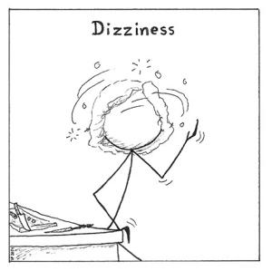 Dizziness is a POTS symptom